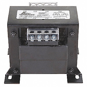 Control Transformer, 750VA VA Rating, 208/240/416/480VAC Input Voltage, 120VAC Output Voltage
