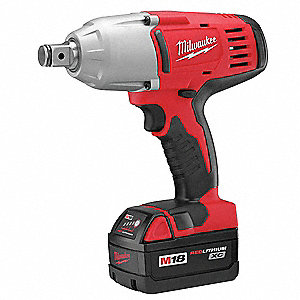 "3/4"" Friction Ring Cordless Impact Wrench Kit, Voltage 18.0 Li-Ion, Battery Included"
