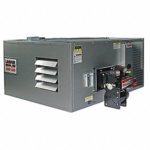 "Waste Oil Heater w/6"" Wall Kit,200K BtuH"