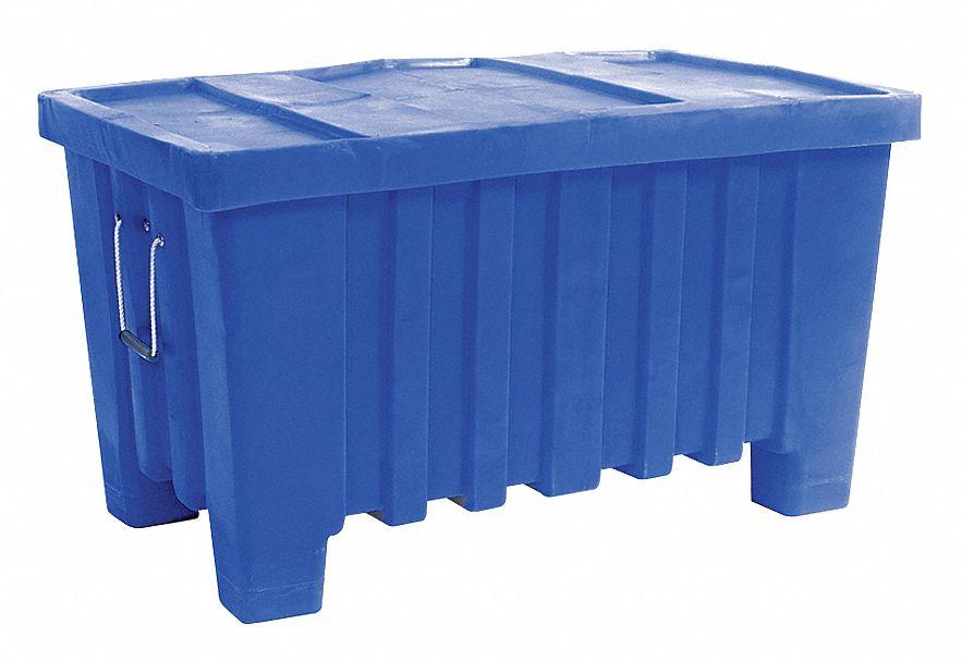 Myton Industries Bulk Container Blue 24 Quot H X 43 Quot L X 26 1