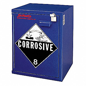 Corrosive Safety Cabinet,21-1/4 In. H