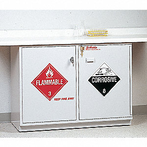Combination Safety Cabinet,Under Counter