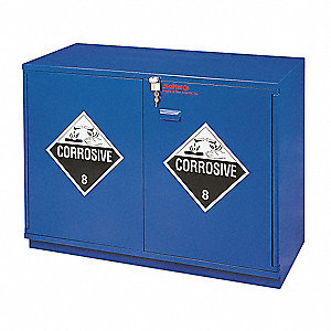 Corrosive Safety Cabinet,35-1/2 In. H
