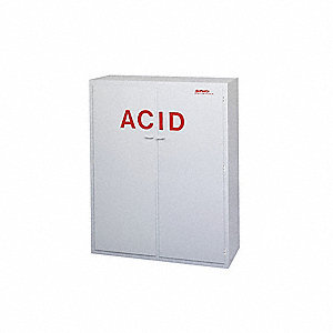 Acid Safety Cabinet,60 In. H,48 In. W