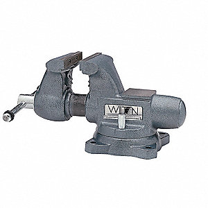 "5-1/2"" Ductile Alloy Tradesman's Vise, 3-3/4"" Throat Depth"