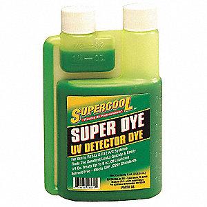 Supercool A C Leak Detection Dye 8 Oz 4ltv1 D8 Grainger