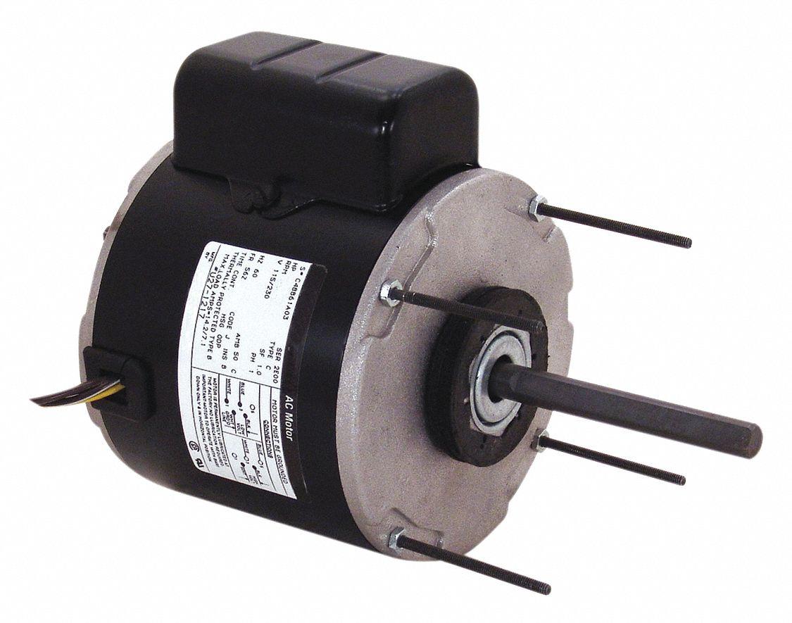 Century 1 3 hp unit heater motor permanent split capacitor for Furnace brook motors inventory