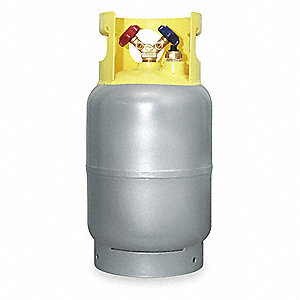 Refrigerant Recovery Cylinder,30 Lbs