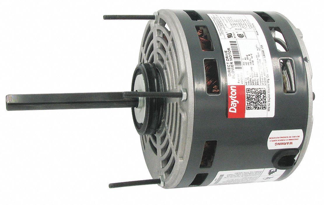 Dayton motor 1 4hp d d blower 4m096 4m096 grainger for Furnace brook motors inventory