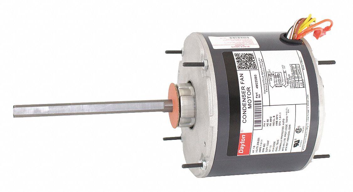 Dayton 1  6 Hp Condenser Fan Motor Permanent Split