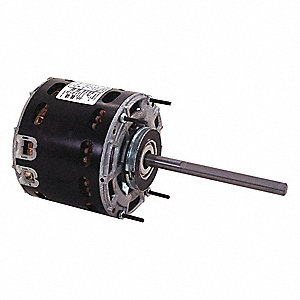 1/30 HP Direct Drive Blower Motor, Permanent Split Capacitor, 1100 Nameplate RPM, 115 Voltage