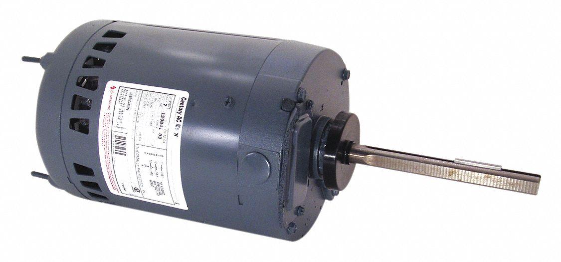 Century Condenser Fan Motor 1 2 Hp 1140 Rpm 60hz 4mb87