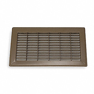 Grainger approved floor register 6x12 brown 4mjc9 4mjc9 for 6x12 wood floor register