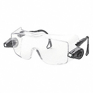 Safety Glasses,Clear Lens,OTG