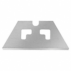 "2-1/4"" Carbon Steel Round Point Safety Blade, 100 PK"