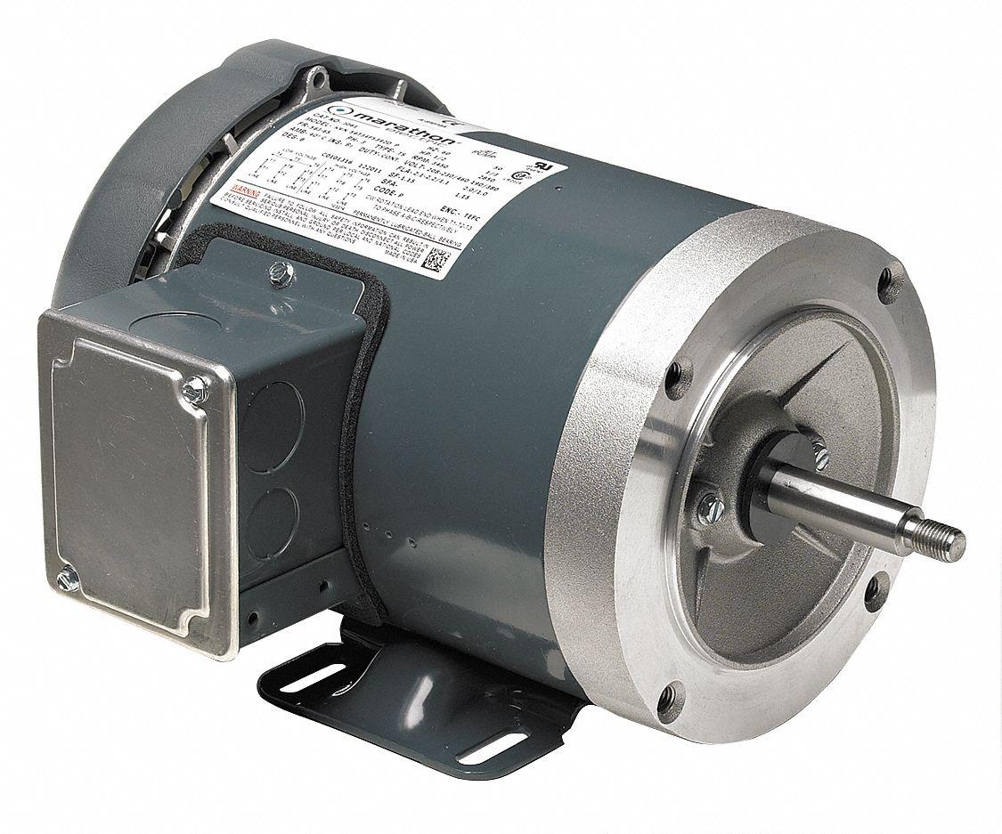 Marathon motors mtr 3 ph for Marathon electric motor replacement parts