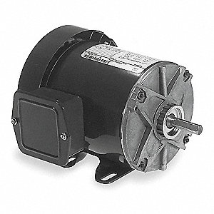 1/3 HP General Purpose Motor,3-Phase,1140 Nameplate RPM,Voltage 230/460,Frame 56