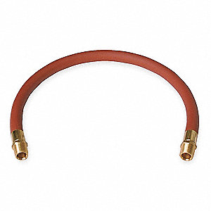Lead Hose,1/2 Inx2 Ft