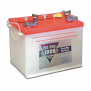 Standby Deep Cycle Battery, For Use With Mfr. No. PHCC-1000