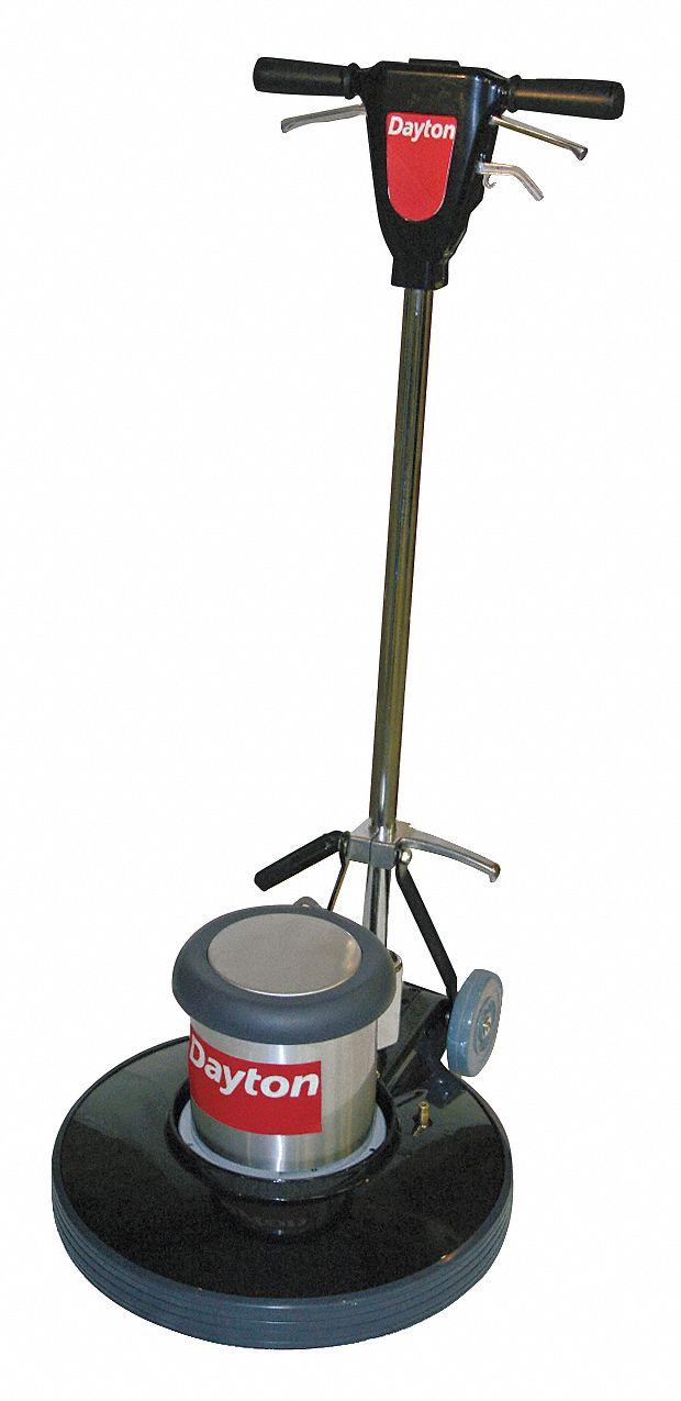Dayton Floor Scrubber Single Speed 20 Quot Machine Size 175