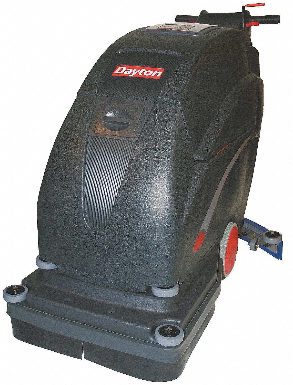 Dayton Walk Behind Floor Scrubber 200 Rpm Brush Speed