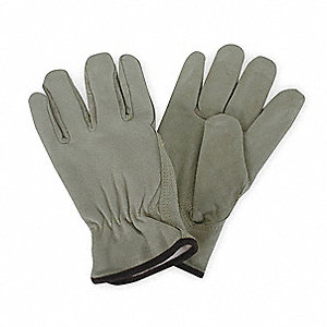 Cold Protection Gloves, Thinsulate Lining, Slip On Cuff, Beige, M, PR 1