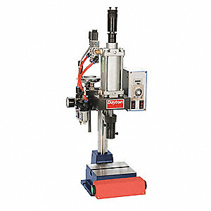 Pneumatic Press,Range 400 Lbs,7 In Swing