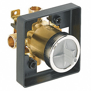 Valve Body,In-Wall,Brass