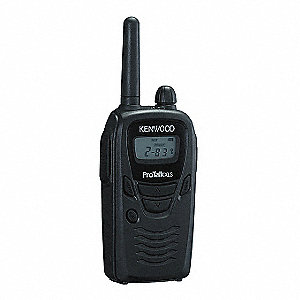 UHF LCD Portable Two Way Radio, Number of Channels 6