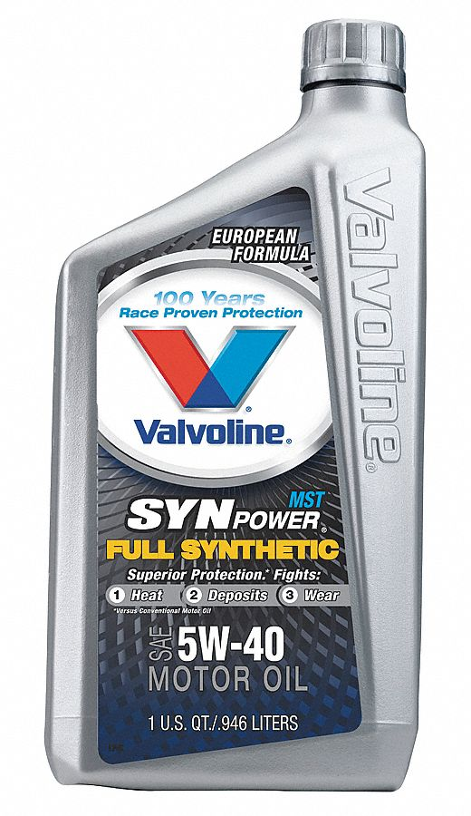valvoline motor oil full synthetic 32 oz 5w 40 4nph9