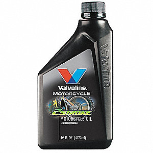 Motor Oil,Mtrcycle 2 Stroke,16 Oz,10W-40
