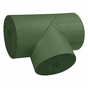 Pipe Fitting Insulation,Tee,3-1/8 In. ID