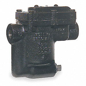 Steam Trap, 180 psi, 930 Lbs/Hr, Max. Temp. 450°F