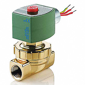 Steam and Hot Water Solenoid Valve, 2-Way/2-Position Valve Design, Normally Closed Valve Configurati