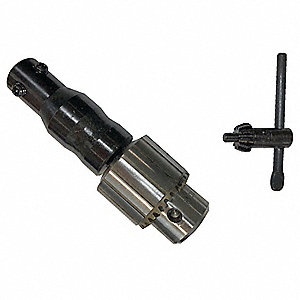 Drill Chuck & Arbor Adapter,For 4KYN7