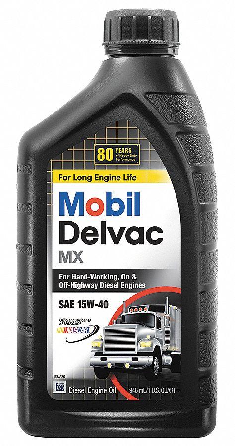 Mobil mobil delvac mx 15w 40 diesel 1 qt 4nyy3 123016 for Mobil motor oil rebate