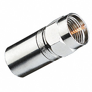 Compression Connector,RG6 RTQ,PK50
