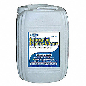 Condenser Cleaner, 5 gal., Pink Color, 1 EA