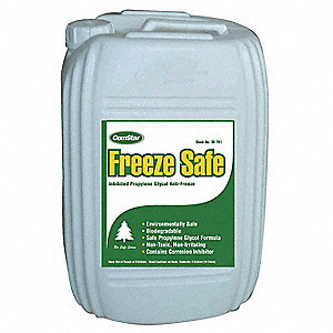 5 gal. Blue Antifreeze, Temp. Range -100°F
