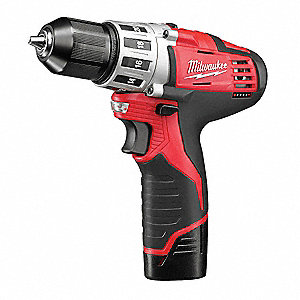 "M12 Li-Ion 3/8"" Cordless Drill/ Driver Kit, Battery Included"