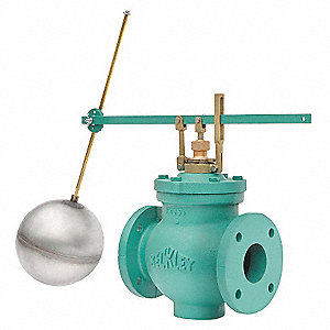 Float Valve Assembly,Single,Size 3 In.