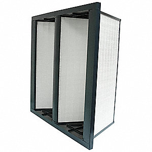 V-Bank Air Filter,12x24x12,MERV 14