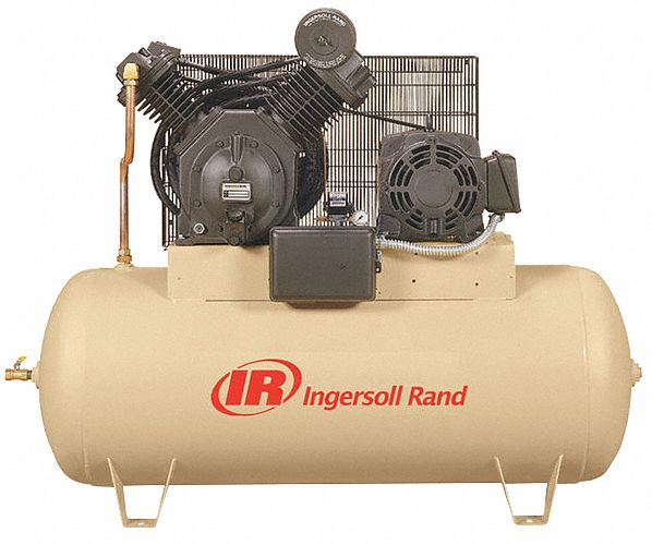 Ingersoll rand electric air compressor 2 stage 15 hp for Ingersoll rand air compressor electric motor