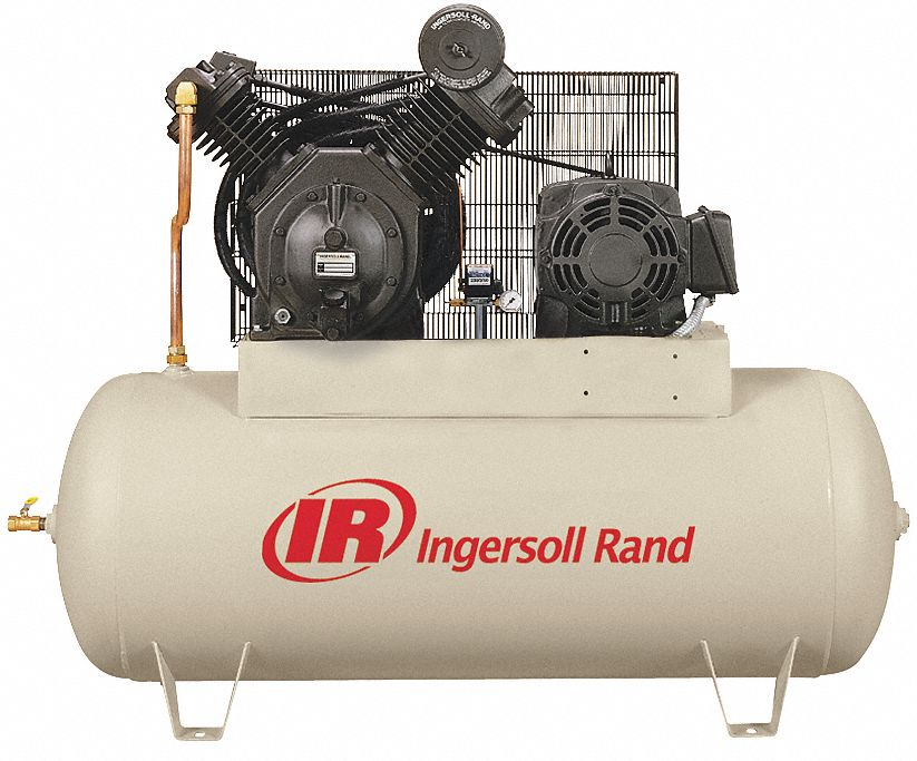 Ingersoll Rand Electric Air Compressor 2 Stage 15 Hp