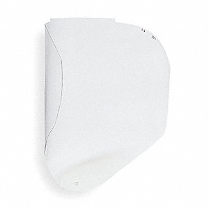 Faceshield Repl Visor,Clr,9-1/2x14-1/4in