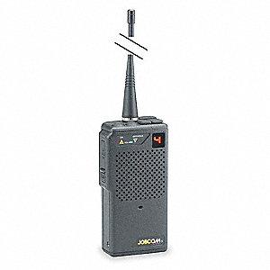 UHF LED Portable Two Way Radio, Number of Channels 10