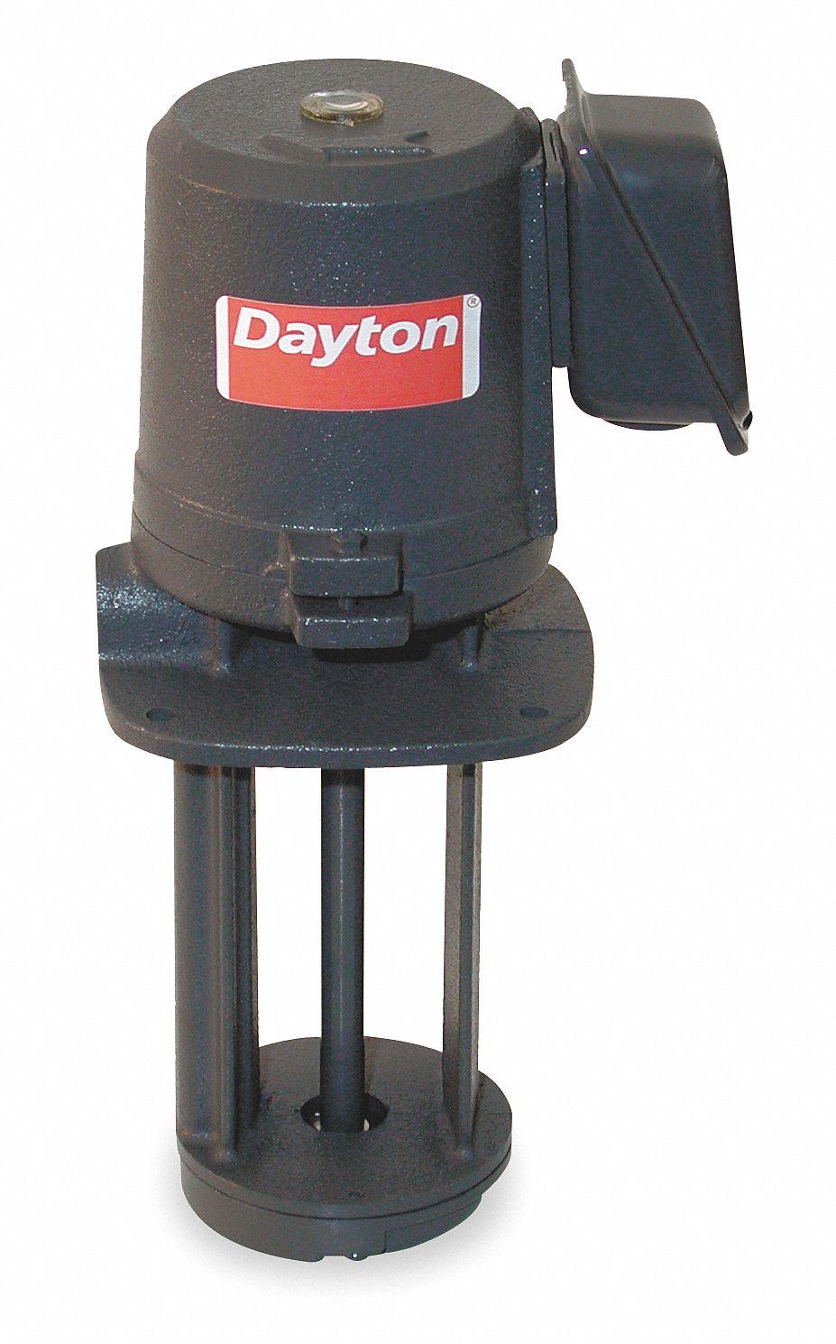 Dayton 1 8 Hp 115 230v Immersion Oil Coolant Pump 3grv5