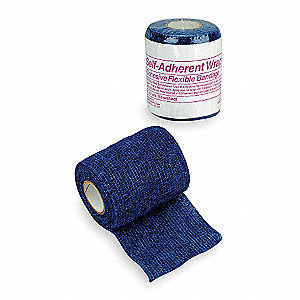 Self-Adherent Wrap,Blue,2 in.,5 yd.