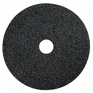 "19"" Black Stripping Pad, Polyester Fiber, Package Quantity 5"