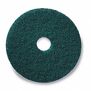 "19"" Green Stripping Pad, Package Quantity 5"